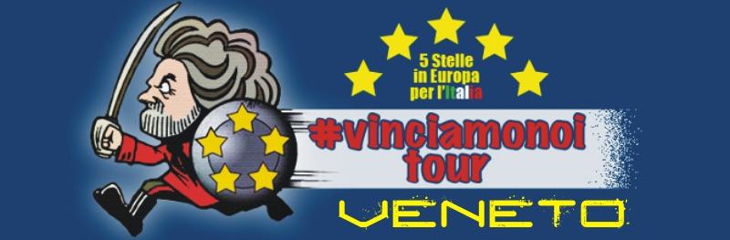 #VinciamoNoi tour